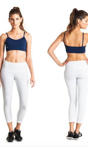 Classic wide waistband leggings