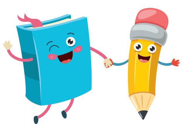 Dibujos Animados Poco Divertido Lapiz Y Premium Vector Freepik Vector Escuela Dibujos Libro De Colores Imagenes De Escuelas