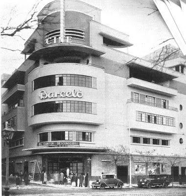El cine Barceló el día de su inauguración, en Diciembre de 1931.