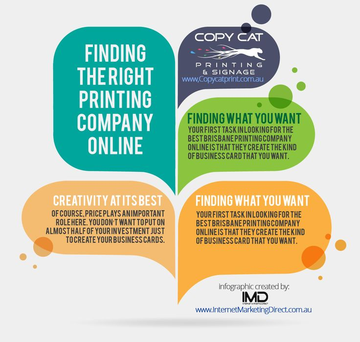 Copycat - Finding The Right Printing Company Online