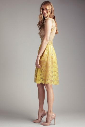 'Collette Dinnigan' Lucille frock. Would look delicioius with our Caramel Sun Hair Band.