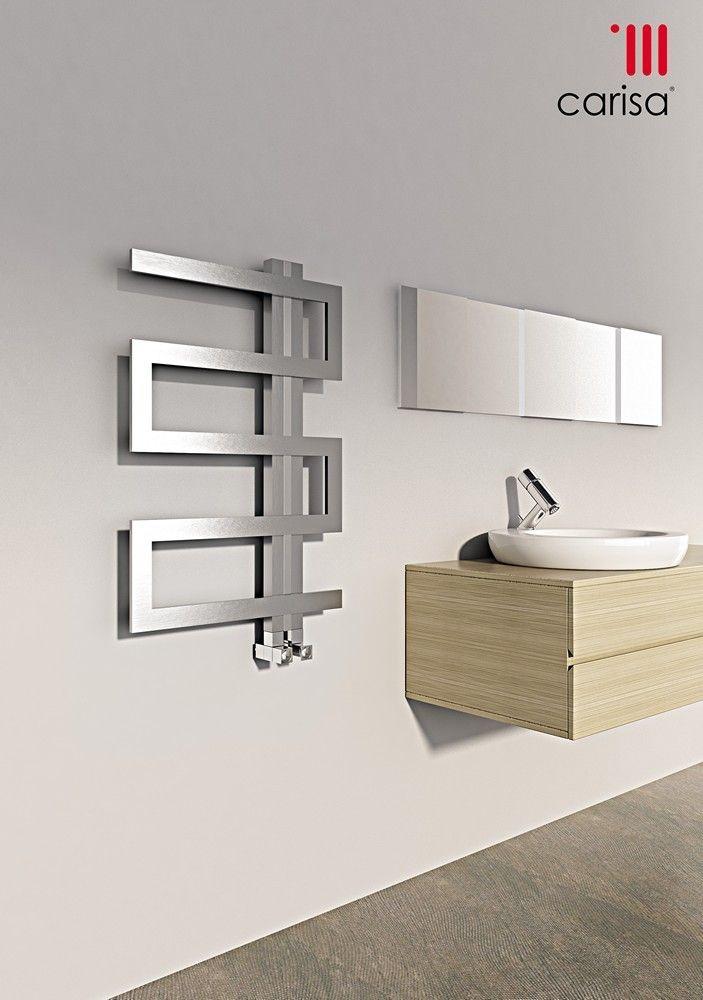 96 Best Designer Heated Towel Rails Images On Pinterest  Heated Amusing Designer Heated Towel Rails For Bathrooms Design Ideas