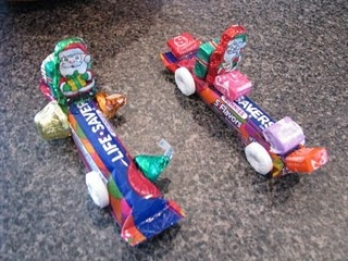 candy race cars, inspired by colin.