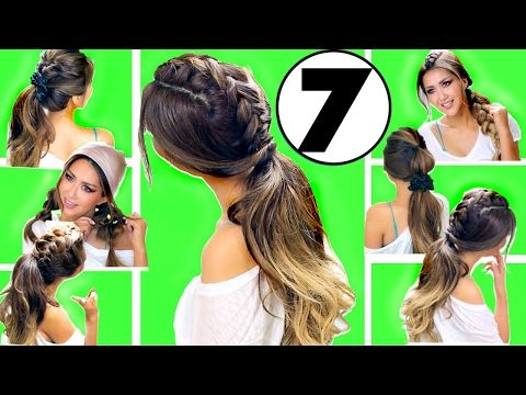 ★ 3 CUTE AF Summer HAIRSTYLES |  Girls UPDO Hairstyle - YouTube