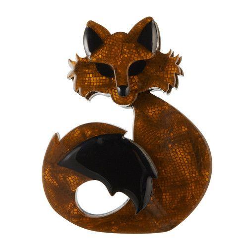 Erstwilder Limited Edition She's so Foxy Brooch; $34.95 (AUD)