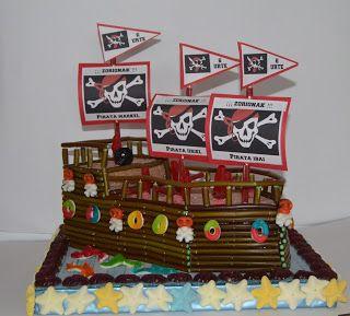 Tartas de Chuches Pamplona : Barco Pirata de Chuches
