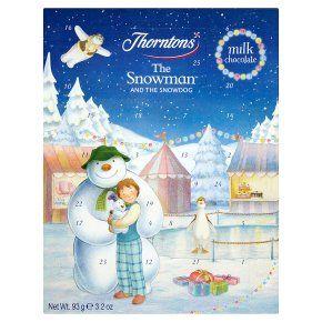 Thornton's snowman & snowdog advent calendar