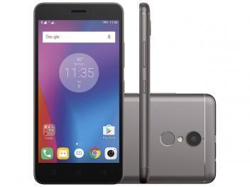 """Smartphone Lenovo Vibe K6 32GB Grafite Dual Chip - 4G Câm. 13MP + Selfie 8MP Tela 5"""" Proc. Octa Core R$ 779,90 em até 8x de R$ 97,49 sem juros no cartão de crédito"""