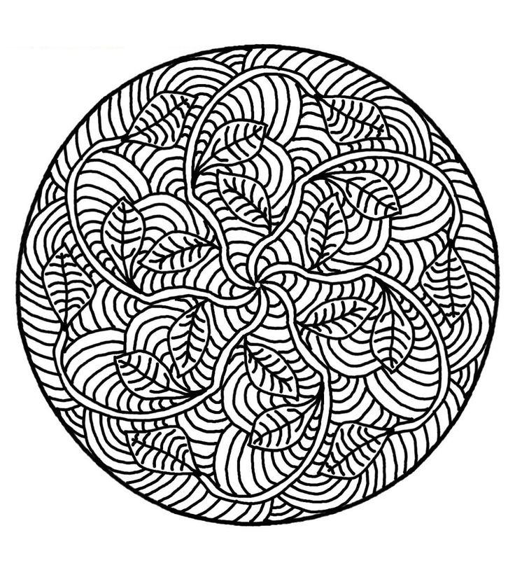 Pour imprimer ce coloriage gratuit «coloriage-mandala-a-imprimer-16», cliquez sur l'icône Imprimante situé juste à droite
