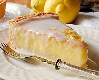 Torta al limone con glassa al limoncello ...mani amore e fantasia blog