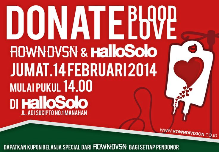 donate blood donate love