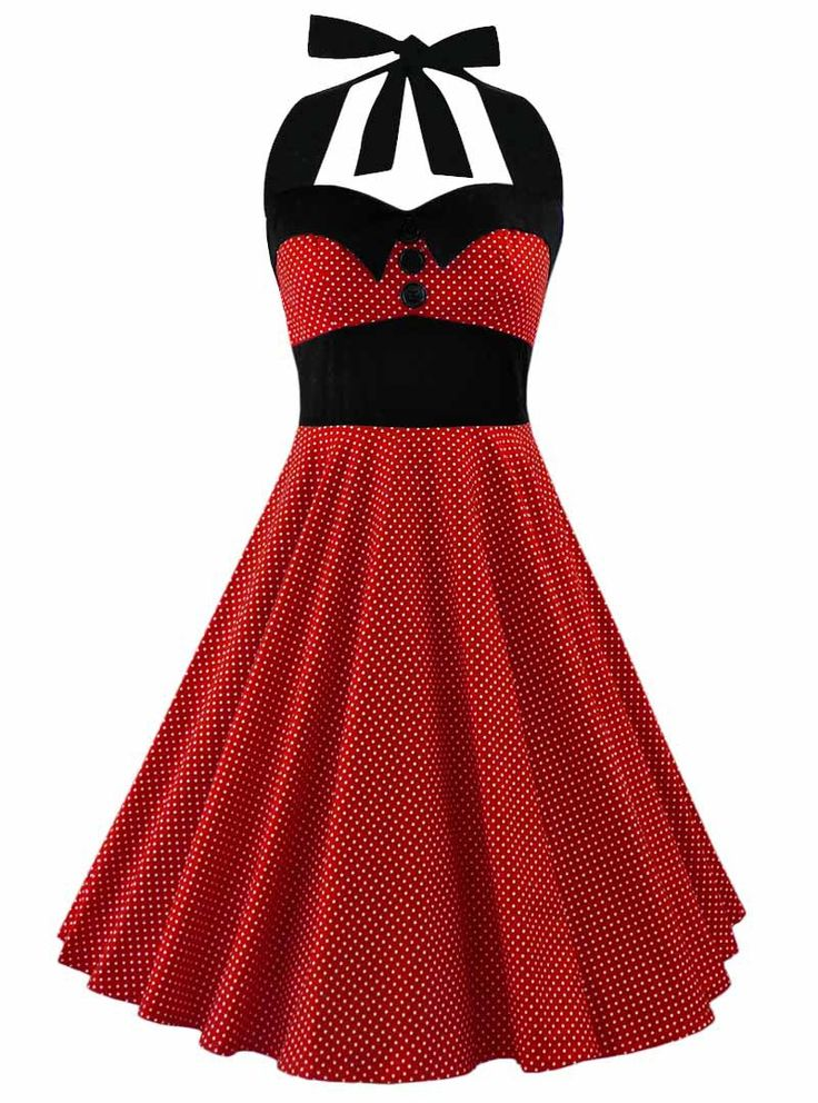 Robe Pin-Up Rockabilly Années 50 Rock Ange'Hell