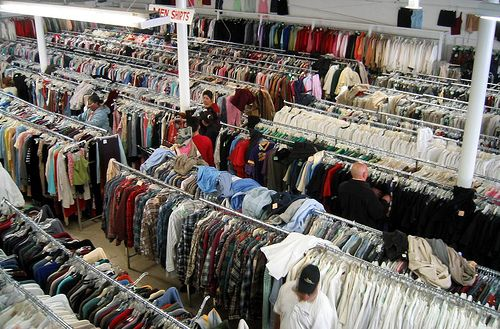 How to Shop Well for Clothes in a Thrift Store. Hmmm... may want to read later.