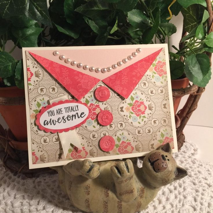 All Dressed Up by CathyRose - Cards and Paper Crafts at Splitcoaststampers …