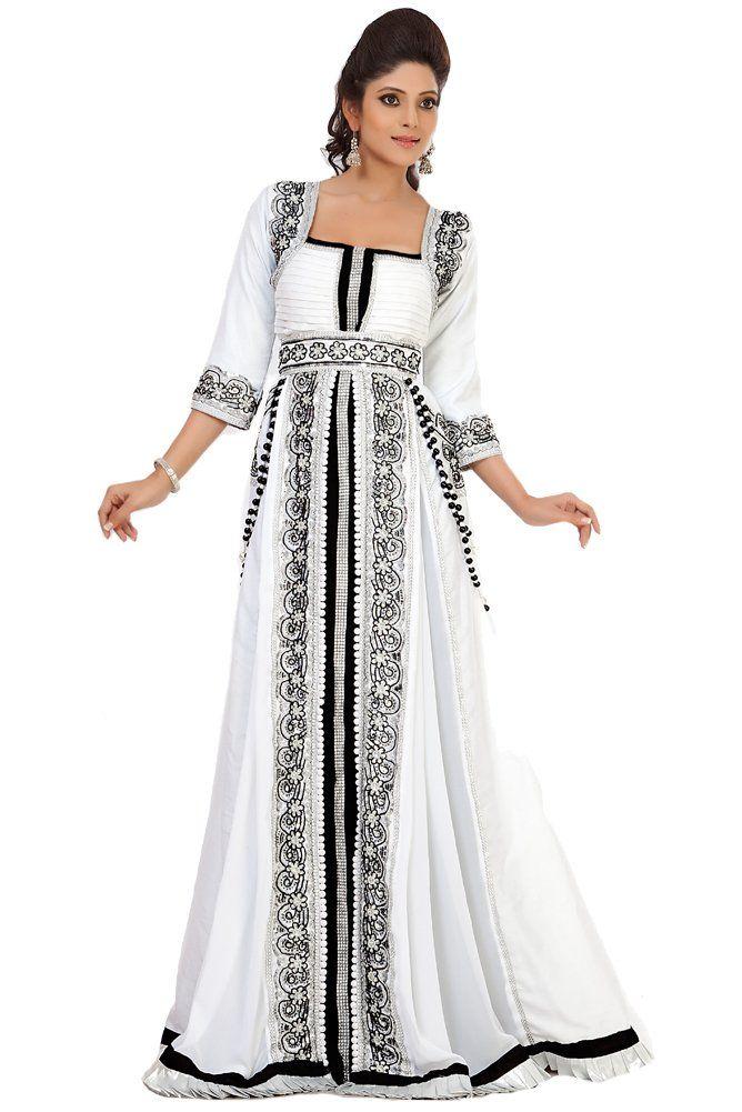 alternative wedding dress black and white wedding dress palas fashion womens jacket moroccan kaftan at amazon