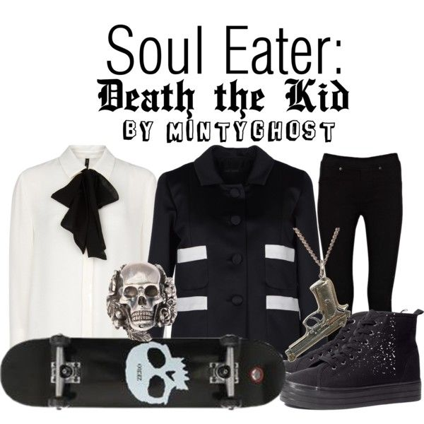 """Soul Eater: Death the Kid"" by mintyghost on Polyvore"