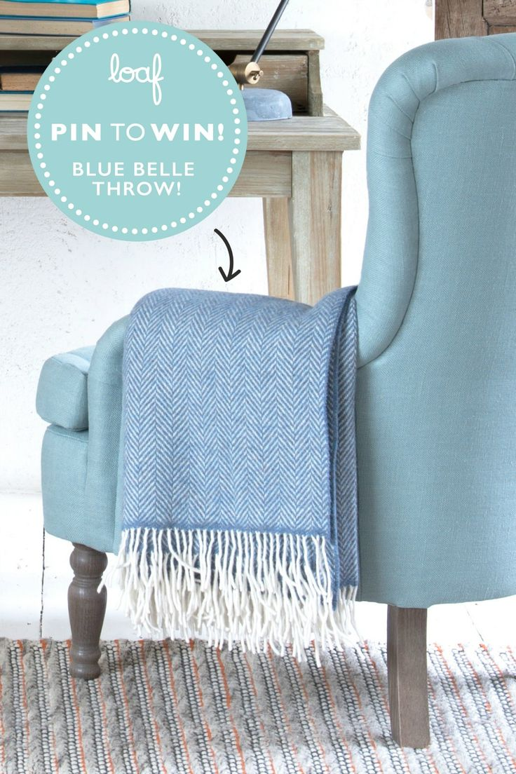 #win this fab interior lounge throw