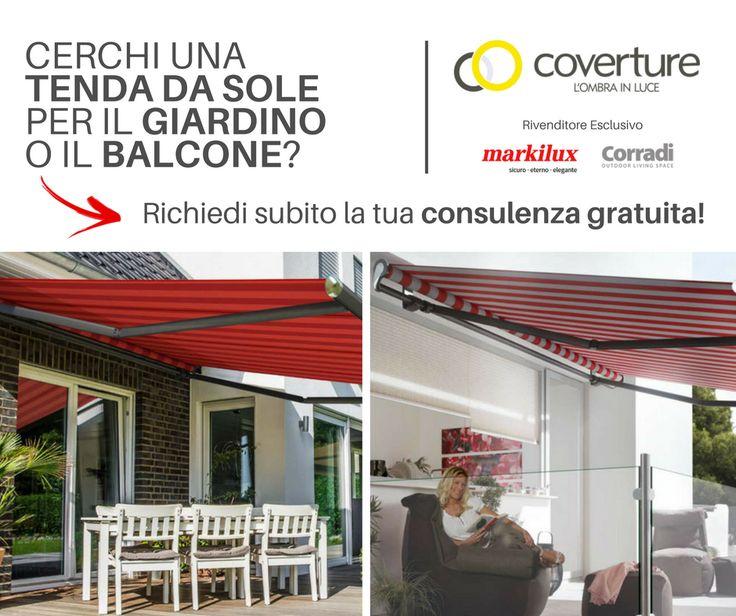 Cerchi una tenda da sole per il tuo giardino o balcone? Clicca scarica la guida in PDF e richiedi una consulenza GRATUITA!  #coverture #markilux #corradi