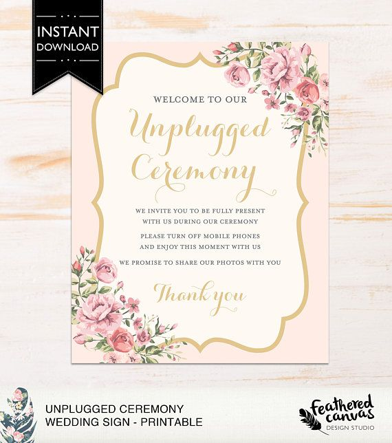 Check out this item in my Etsy shop https://www.etsy.com/ca/listing/508080722/download-print-wedding-ceremony-sign-24