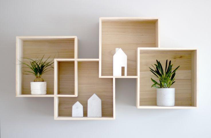 On our wall - #Quadro by #Bolia.com! #box #shelf #interior #wall #plant
