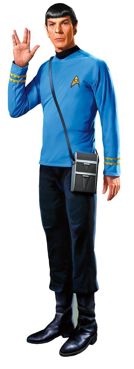 Star Trek Mr. Spock Greeting Card & Stickers