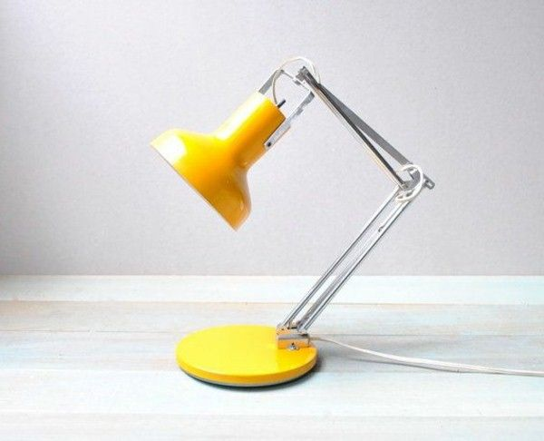 Modern and eye-catching desk lamps!