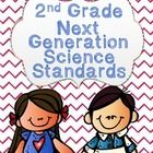 Next Generation Science Standards NGSS 2nd Grade UNPACKED checklist! It's only $2 and has every standard explained in detail.. plus it's adorable! :)