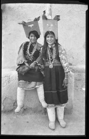 T. Harmon Parkhurst (photographer), Two Women Corn Dancers, Jemez Pueblo, New Mexico, c. 1935; Palace of the Governors Photo Archive, New Mexico History Museum, Santa Fe