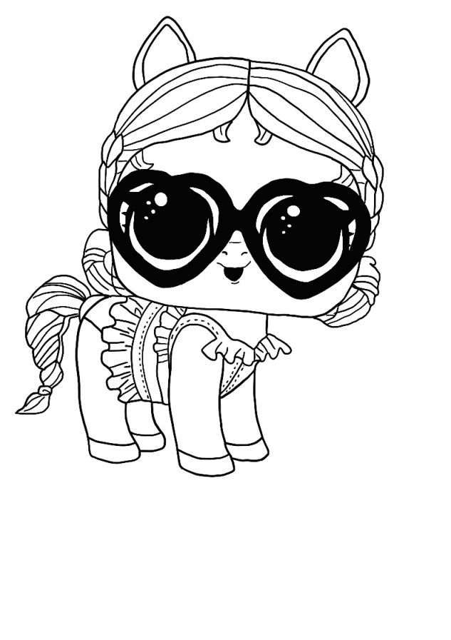 lol surprise winter disco coloring pages - free coloring