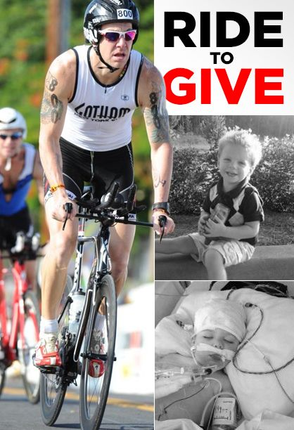 5- to 6-day ride will benefit a special 2-year-old named Tripp Halstead, who suffered a serious brain injury