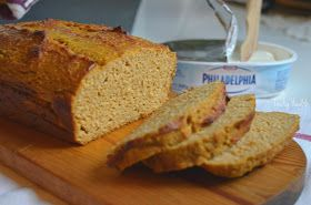 Pumpkin coconut protein bread