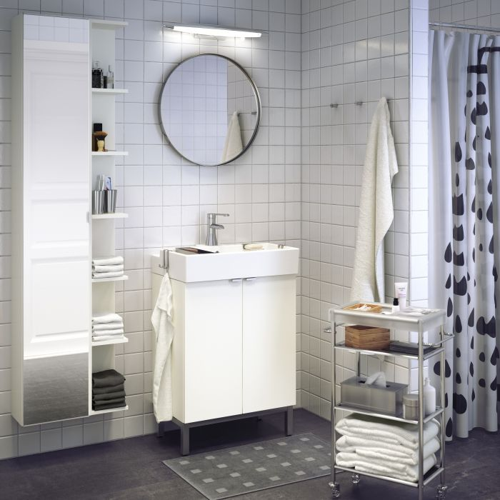 Give Your Mirror Something To Look At With Lill Ngen Bathroom Cabinets