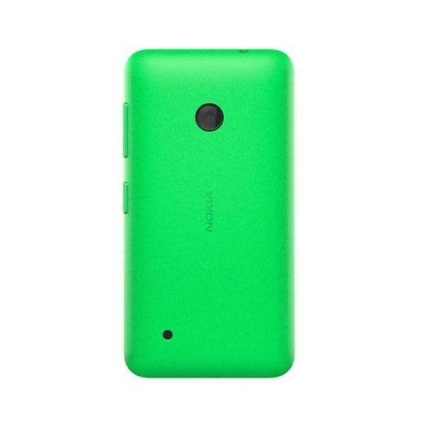 Dostosuj do swojego stylu smartfon Nokia Lumia 530 za pomocą wymiennej oryginalnej obudowy Nokia CC-3084.  Produkt w kolorze zielonym.