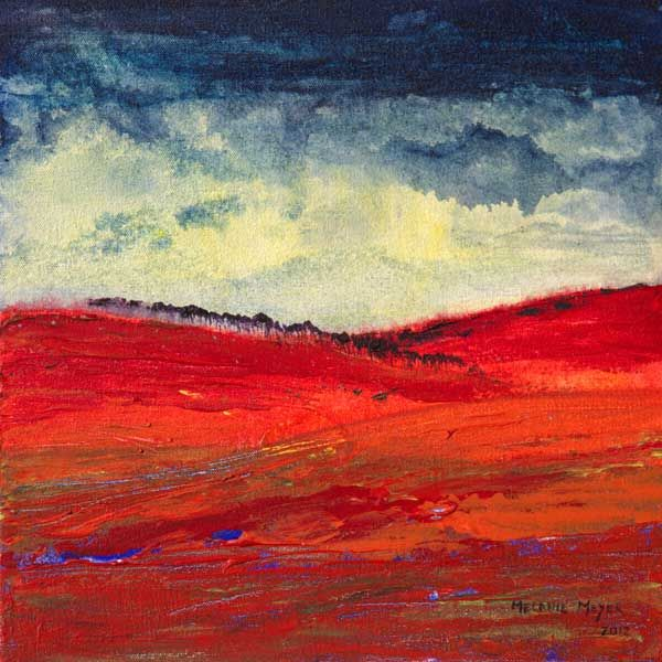 """Autumn Hills 03"" by Melanie Meyer from her Emergence Art Gallery in Cape Town"