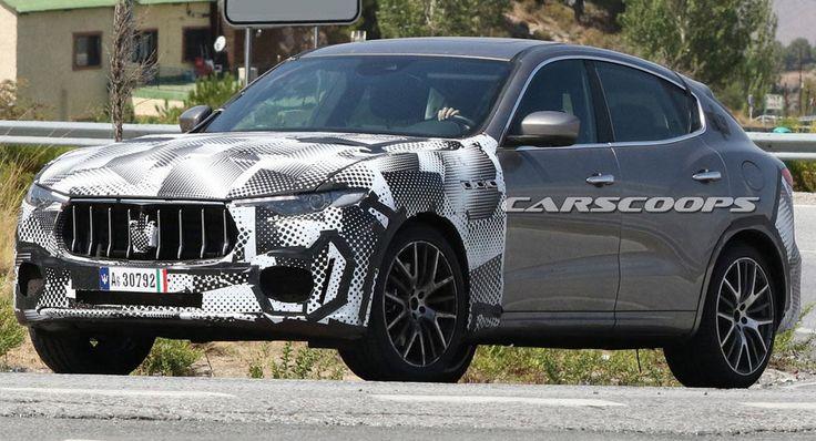 Maserati Levante GTS Spied Testing Alongside A BMW X5 M