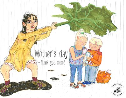 """Check out new work on my @Behance portfolio: """"Mother´s day"""" http://be.net/gallery/52458143/Mothers-day"""