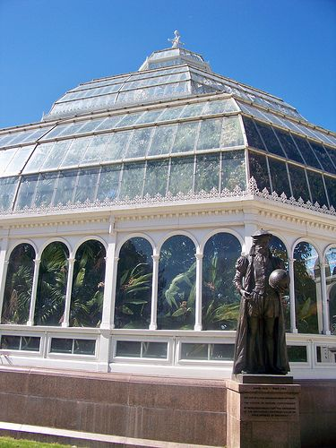 Glasshouse Sefton Park, Liverpool, England | Christine Williams on flickr