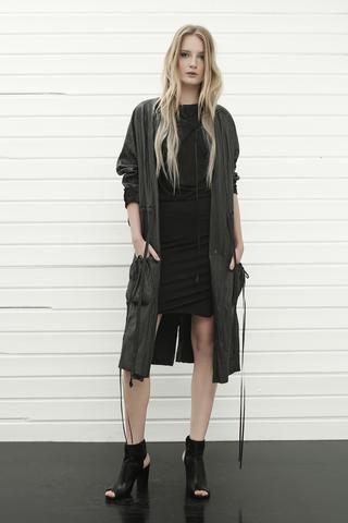 konsanszky_collection SS16_DAKOTA leather coat