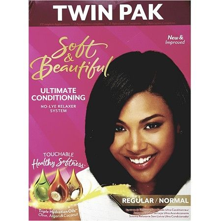 Soft & Beautiful Ultimate Conditioning Relaxer Regular Twin Pak - 2 Applications $9.95   Visit www.BarberSalon.com One stop shopping for Professional Barber Supplies, Salon Supplies, Hair & Wigs, Professional Product. GUARANTEE LOW PRICES!!! #barbersupply #barbersupplies #salonsupply #salonsupplies #beautysupply #beautysupplies #barber #salon #hair #wig #deals #sales #SoftBeautiful #Ultimate #Conditioning #Relaxer #Regular