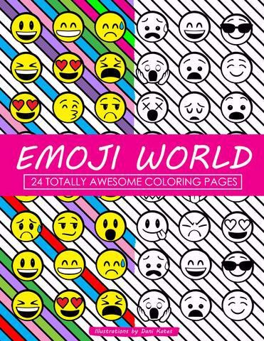 Who doesn't love coloring? From a treasure chest of emojis, to ice cream, and monkeys, emojis are everywhere and waiting for you to fill them with color! Featuring 24 unique and creative designs, rang