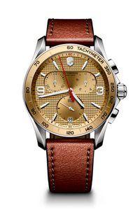 Pánske Hodinky Chrono Classic 241659  Swiss-made quartzový strojček ETA G10.211, Presnosť merania chronografu až 1/10 sekundy, tachymeter, priemer: ø 41 mm