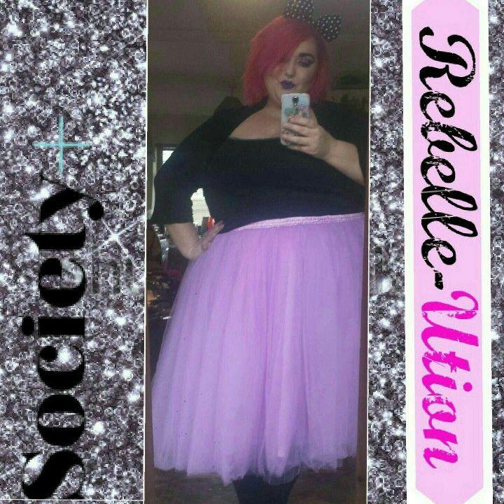 Tutu, Society +, fairy princess, blogger babe, alt girl, alt babe, fatshion