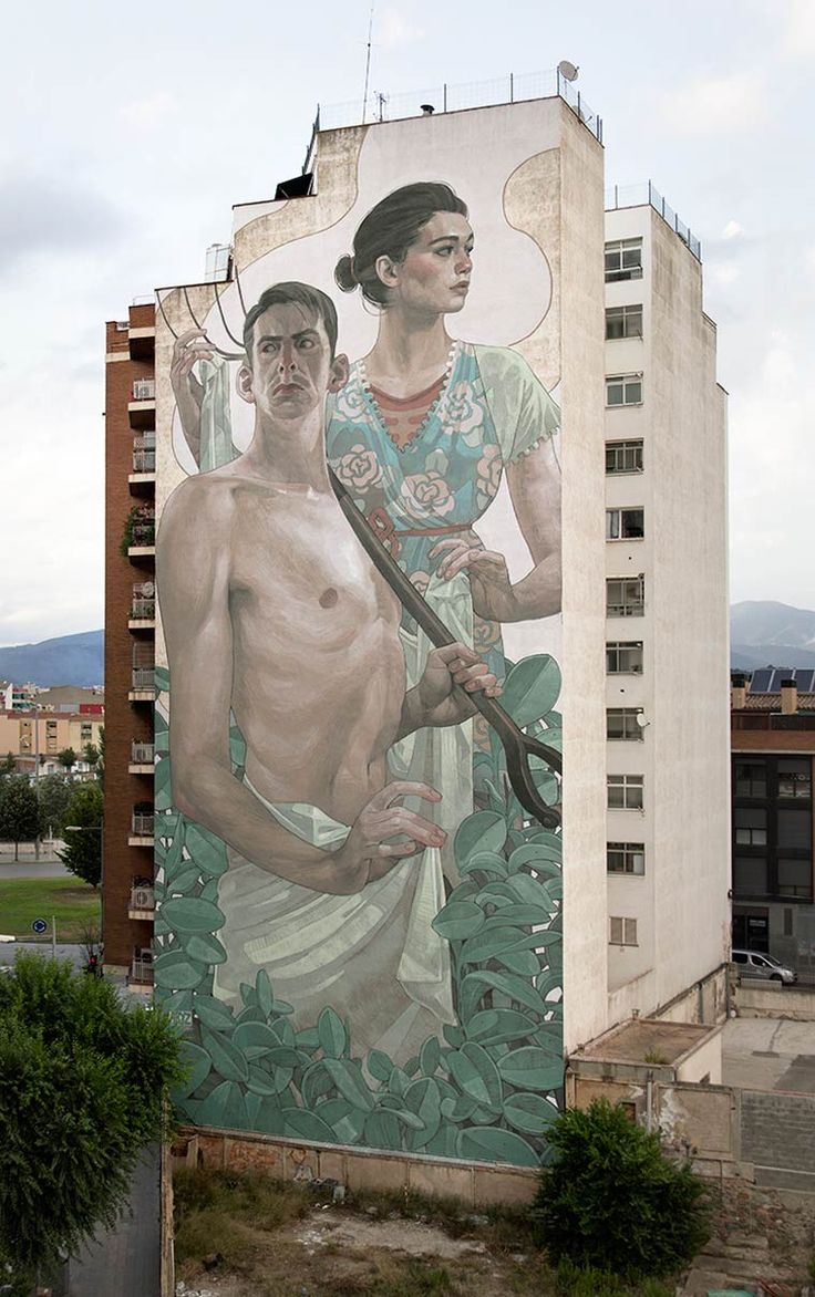 Street art – Les dernières créations de Aryz