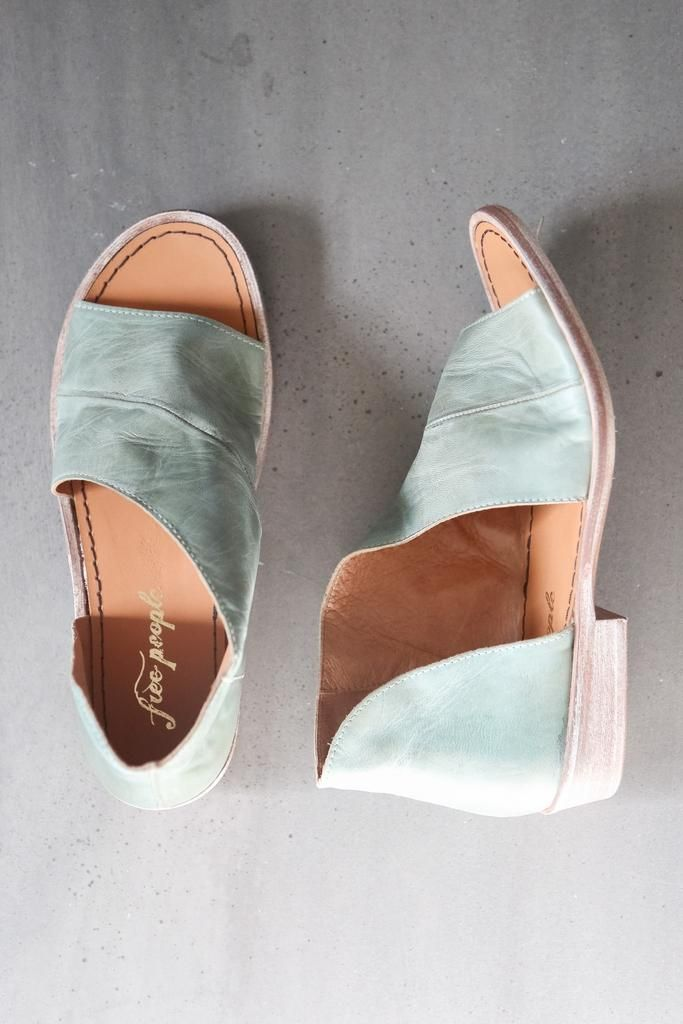 Free People Mont Blanc Sandal in Mystic Blue