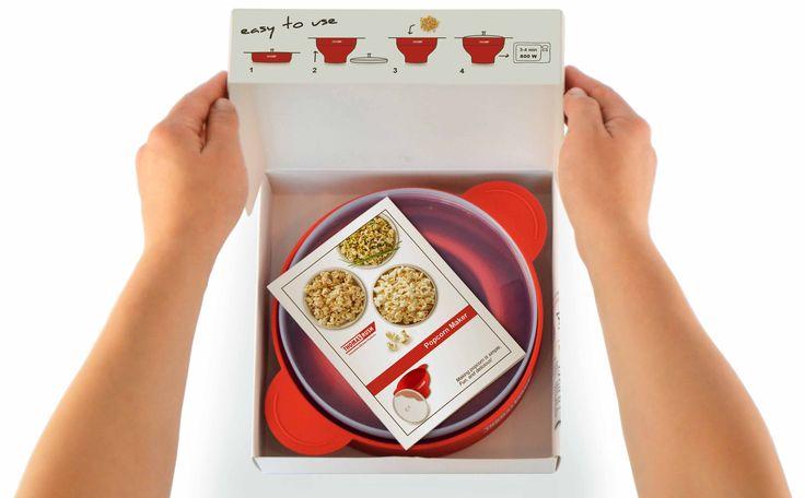 Mipcrowave Popcorn Popper Maker for home gift ideas
