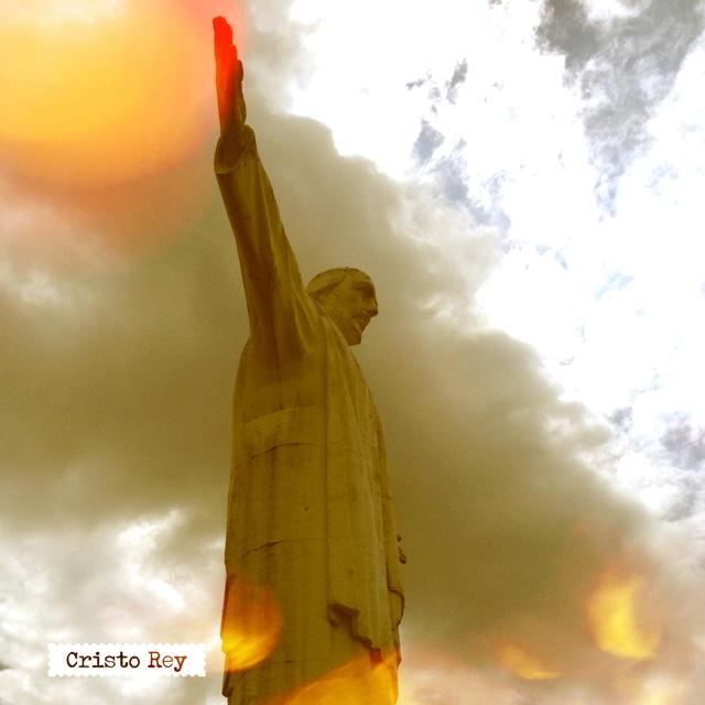 Un hermosa imagen de Cristo Rey #Cali #Colombia @Dituristico