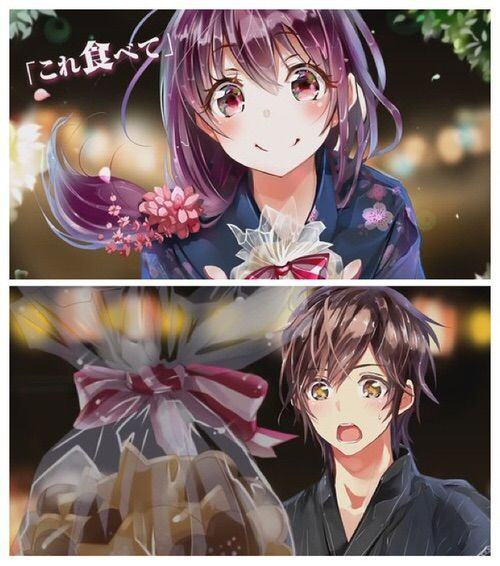Image via We Heart It #song #honeyworks #cute #love #anime #yakimochinokotae