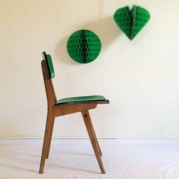 Sidonie, la chaise en formica des années 50 par Chouette Fabrique