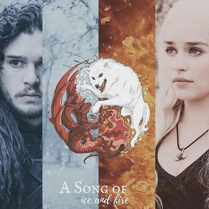 """8,556 Likes, 15 Comments - emiliaclarke/gameofthrones ❤ (@daenerys_emiliaclarke) on Instagram: """"#Repost @snow_is_comin (@get_repost) ・・・ Dany and Jon   A Song of Ice and Fire   The last of the…"""""""