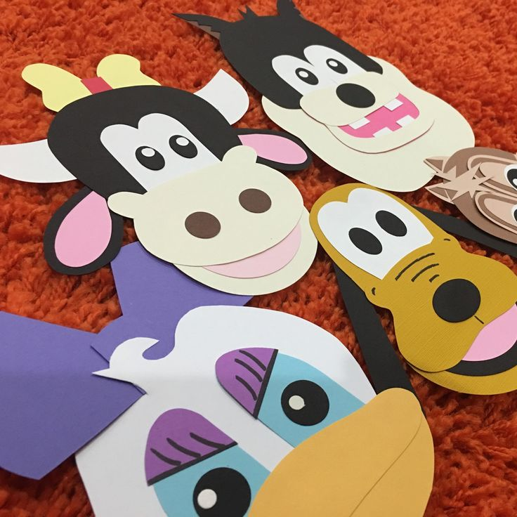 Mickey mouse clubhouse close up on banner characters. Daisy, Pluto, Chipmunk, Clarabelle and Pete the cat. Check them out at my etsy store: www.craftophologie.etsy.com